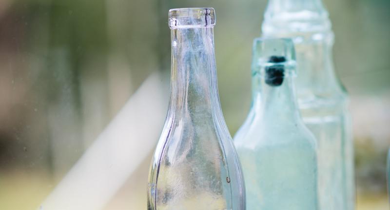Trinkflasche für Osmosewasser