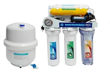 Depuragua Umkehrosmose MOON75 6 Stufen. Manometer Pumpe, Verbrenner, Wasserhahn Lux - 2