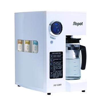 Mobile Umkehrosmoseanlage ohne Festwasseranschluss R.O.POT. Die ideale Lösung für Mietwohnungen, Reisende und kleine Haushalte (Weiß) - 2