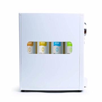 Mobile Umkehrosmoseanlage ohne Festwasseranschluss R.O.POT. Die ideale Lösung für Mietwohnungen, Reisende und kleine Haushalte (Weiß) - 3