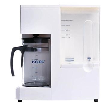 Mobile Umkehrosmoseanlage ohne Festwasseranschluss R.O.POT. Die ideale Lösung für Mietwohnungen, Reisende und kleine Haushalte (Weiß) - 6