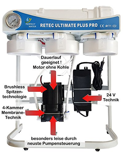 Osmoseanlage 600 GPD Perfect Water No. 1 Ultimate Plus PRO 2019 Direct Flow kein Tank nötig Umkehrosmosewasserfilter Wasserfilter Trinkwasser Umkehrosmose Reverse Osmosis - 2
