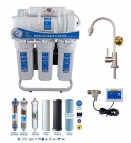 Osmoseanlage 600 GPD Perfect Water No. 1 Ultimate Plus PRO 2019 Direct Flow kein Tank nötig Umkehrosmosewasserfilter Wasserfilter Trinkwasser Umkehrosmose Reverse Osmosis - 1