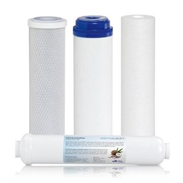 RDL Group Ultimate Plus Superflow | Umkehrosmose Wasserfilter 600 GPD Membrane und Hochleistungspumpe | Kraftpaket ohne Tank | Directflow Osmoseanlage | Bis zu 1600 ml Osmosewasser pro Minute - 4