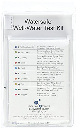 2 x Trinkwasser Wassertest (10 versch. Tests in 1) mit deutsch/englisch bedienungsanleitung - 4