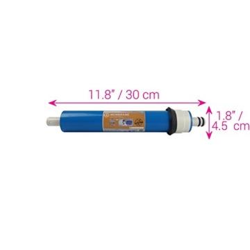 Water2buy Universal 5Stufen Umkehrosmose komplett Wasser Filter Ersatz-Set, weiß, 5Stück - 6