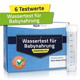 """Wasser Test """"Baby"""" – Analyse der wichtigsten Stoffe im Leitungswasser für die Zubereitung von Babynahrung - 1"""