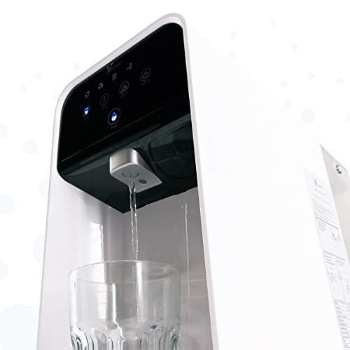 Osmoseanlage ohne Wasseranschluss aunity®️ Aqua Balance II - Wasserfilter Anlage - Osmoseanlage Trinkwasser - sofort 4 Verschiedene Temperaturen - reichert Anionen&Mineralien an - 8