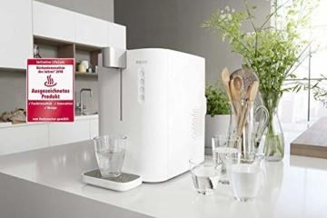 BRITA Wassersprudler yource pro top - Elektronisch mit CO2 Zylinder - Mit Filter, Kühlung für Lieblingswasser vom Wasseranschluss - Weiß - 2