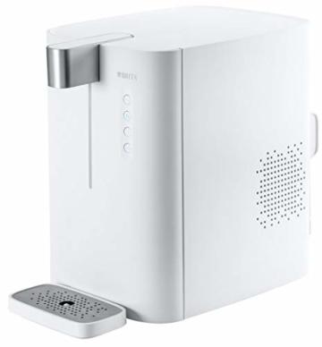 BRITA Wassersprudler yource pro top - Elektronisch mit CO2 Zylinder - Mit Filter, Kühlung für Lieblingswasser vom Wasseranschluss - Weiß - 1