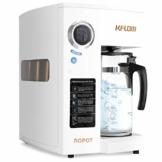 KFLOW Auftisch Wasserfilter, Null-Installations-Wasser Filter für Trinkwasser mit Umkehrosmoseanlage, 4-Stufen Alkalischer Mobil Umkehrosmos Trinkwasserfilter mit Patentiertem Wassertank - 1
