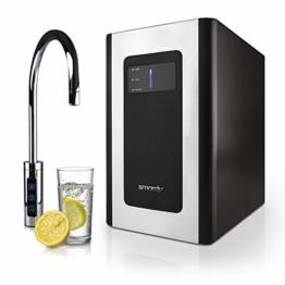 smardy blue Soda & Cool Wassersprudler mit Ultrafiltration und Aktivkohleblockfilter für stilles, gekühltes, spritziges Sprudelwasser - 1