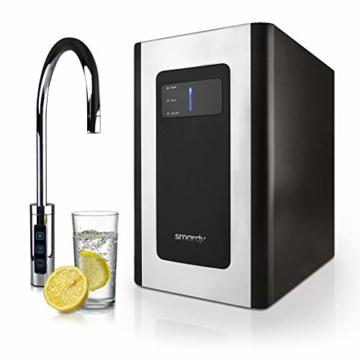 smardy blue Soda & Cool Wassersprudler mit Ultrafiltration und Aktivkohleblockfilter für stilles, gekühltes, spritziges Sprudelwasser - 8