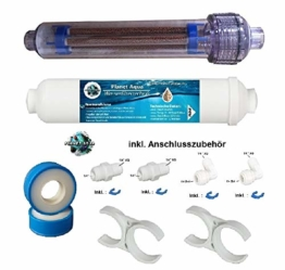 AIFIR Negativ-Ionen-Energetisierer Energetisierung u Vitalisierung Kartusche + Mineralfilter Mineralisiererinkl. Anschlusszubehör Halterungen. Patronen Umkehrosmose Osmoseanlage Wasserfilter - 1