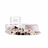 inu! Crystal Jar | YIN YANG +++ Edelsteinglas zur Vitalisierung von Wasser mit Turmalin - Milchopal - Bergkristall - 1