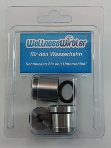 Wellnesswirbler ® für den Wasserhahn - (Wasserwirbler/Wirbler) - 3