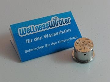 Wellnesswirbler ® für den Wasserhahn - (Wasserwirbler/Wirbler) - 7