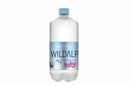 Babywasser WILDALP natürliches Quellwasser natriumarm, streng kontrolliert, pur oder zur Nahrungszubereitung ohne Abkochen (12 x 1 Liter) - 1
