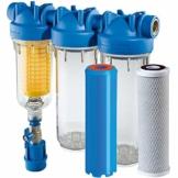 "HYDRA Ironmaster 1"" Set Eisenfilter Brunnenwasserfilter Hauswasserfilter Chlor - 1"
